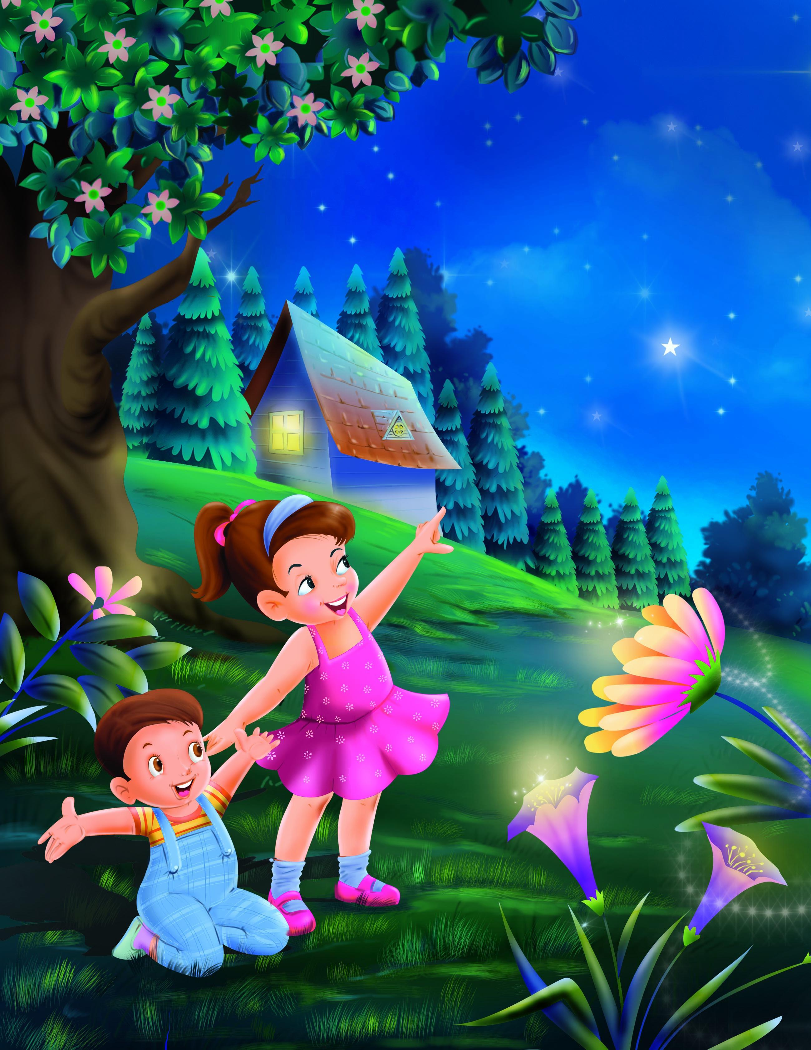 Cartoon Illustration - Children Book Illustration